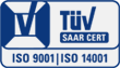 Certification ISO 9001 - ISO 14001